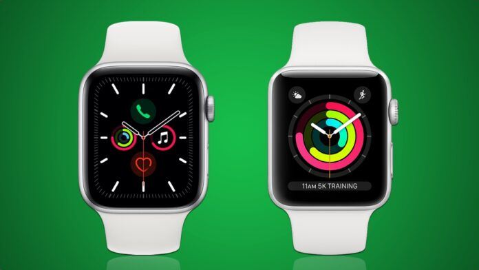 Apple Watch Series 5 в Series 3
