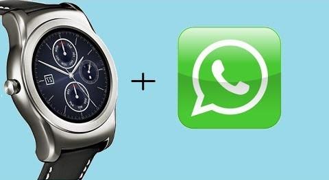 WhatsApp na Wear OS