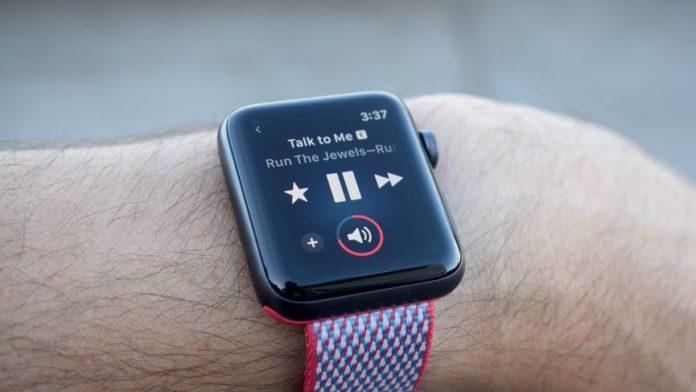 apple watch музыка