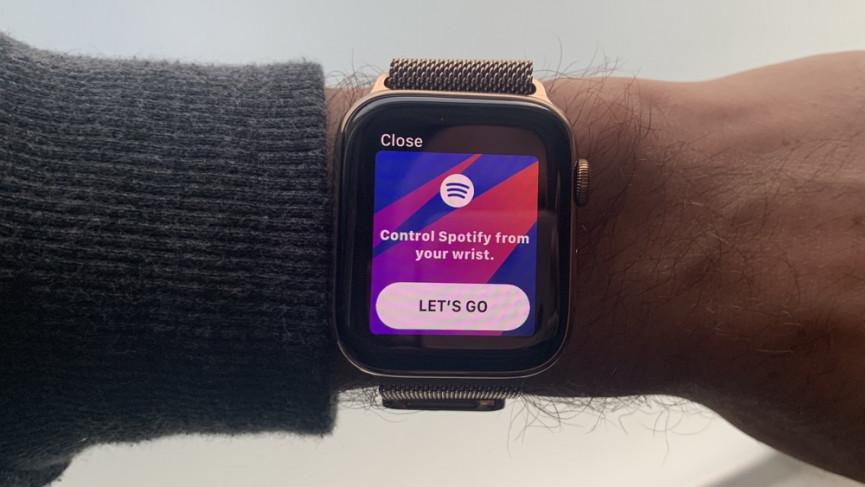 Как использовать Spotify на Apple Watch