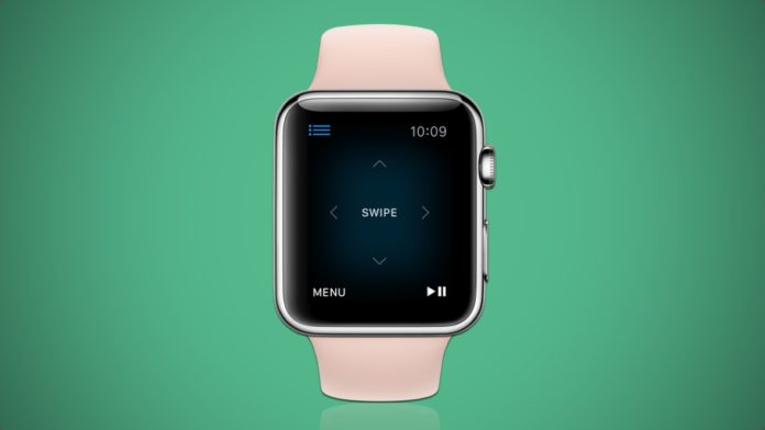 Apple Watch управление Apple TV