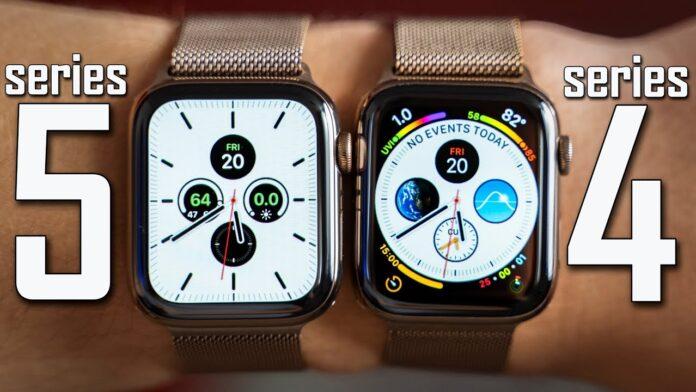 Apple Watch Series 5 и Series 4