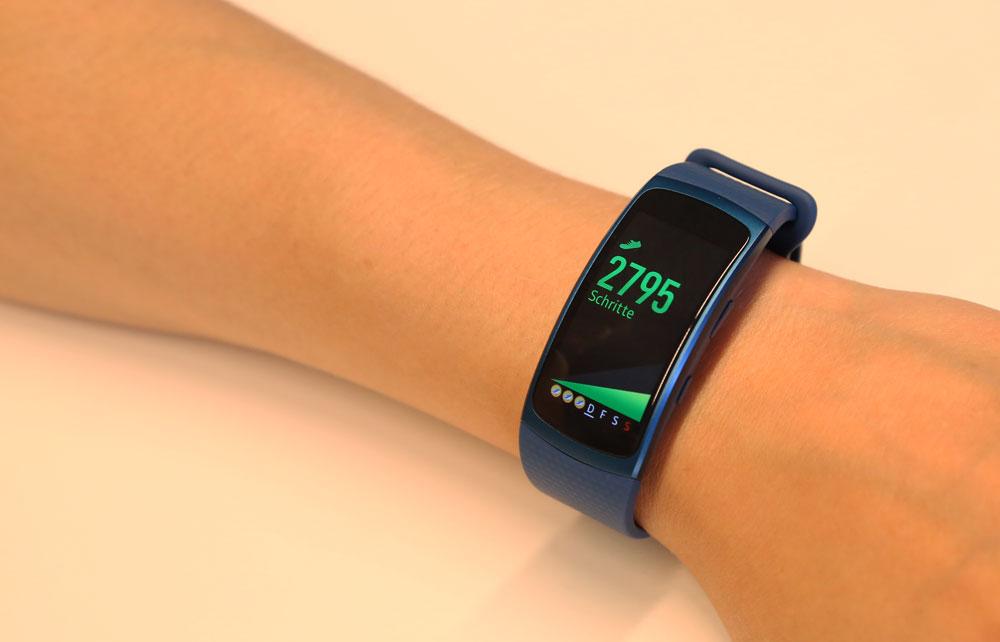 Samsung Gear Fit 2 фитнес браслет